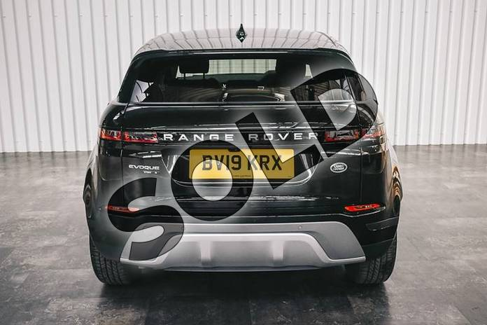 Image six of this 2019 Range Rover Evoque Diesel Hatchback Diesel 2.0 D180 S 5dr Auto in Santorini Black at Listers Land Rover Solihull