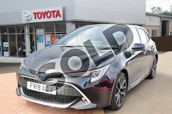 Image three of this 2019 Toyota Corolla Hatchback 1.8 VVT-i Hybrid Excel 5dr CVT in Eclipse Black at Listers Toyota Grantham
