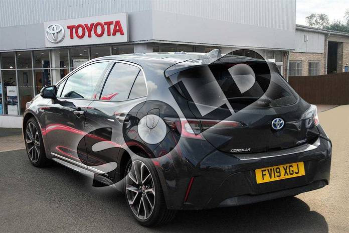 Image four of this 2019 Toyota Corolla Hatchback 1.8 VVT-i Hybrid Excel 5dr CVT in Eclipse Black at Listers Toyota Grantham