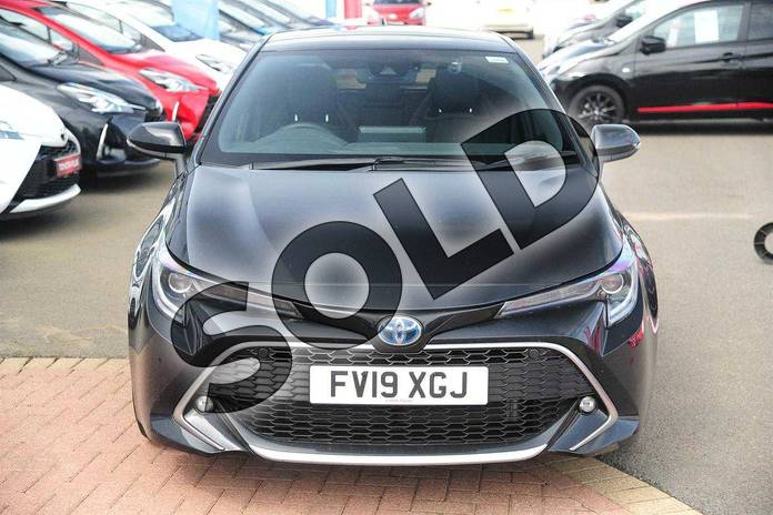 Image fifteen of this 2019 Toyota Corolla Hatchback 1.8 VVT-i Hybrid Excel 5dr CVT in Eclipse Black at Listers Toyota Grantham