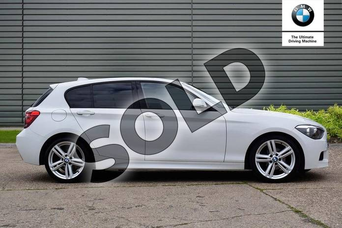 Image two of this 2013 BMW 1 Series Hatchback 116i M Sport 5dr in Alpine White at Listers Boston (BMW)