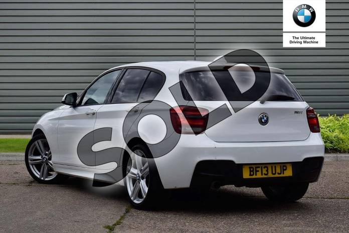 Image three of this 2013 BMW 1 Series Hatchback 116i M Sport 5dr in Alpine White at Listers Boston (BMW)