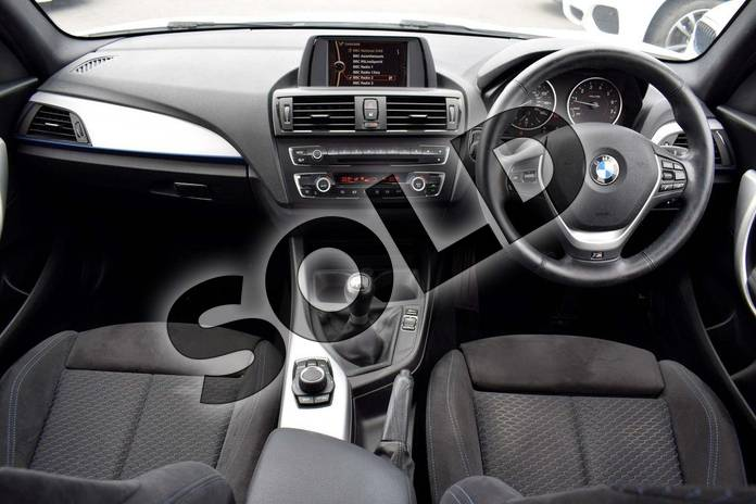 Image seven of this 2013 BMW 1 Series Hatchback 116i M Sport 5dr in Alpine White at Listers Boston (BMW)