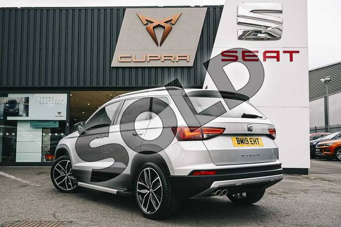 Image three of this 2019 SEAT Ateca Estate 1.5 TSI EVO Xcellence Lux (EZ) 5dr in Reflex silver at Listers SEAT Coventry