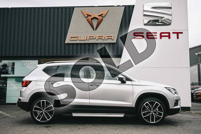 Image four of this 2019 SEAT Ateca Estate 1.5 TSI EVO Xcellence Lux (EZ) 5dr in Reflex silver at Listers SEAT Coventry