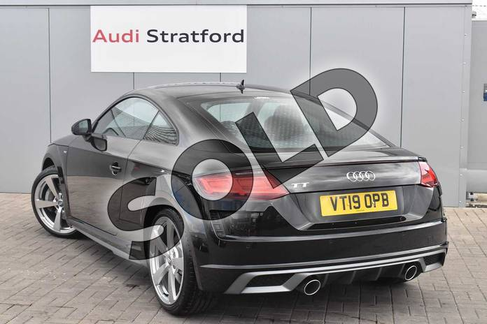 Image three of this 2019 Audi TT Coupe 45 TFSI S Line 2dr S Tronic in Myth Black Metallic at Stratford Audi