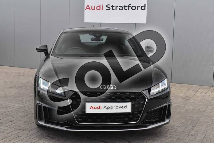 Image seven of this 2019 Audi TT Coupe 45 TFSI S Line 2dr S Tronic in Myth Black Metallic at Stratford Audi