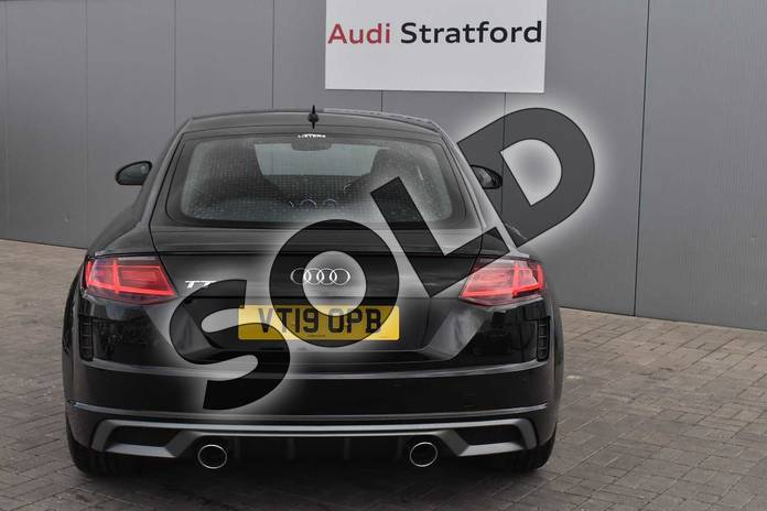 Image nine of this 2019 Audi TT Coupe 45 TFSI S Line 2dr S Tronic in Myth Black Metallic at Stratford Audi