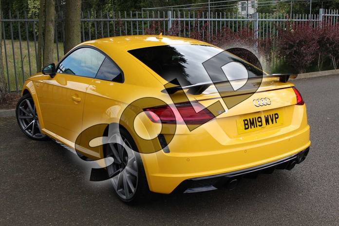 Image three of this 2019 Audi TT Coupe 45 TFSI Black Edition 2dr S Tronic in Vegas Yellow at Coventry Audi