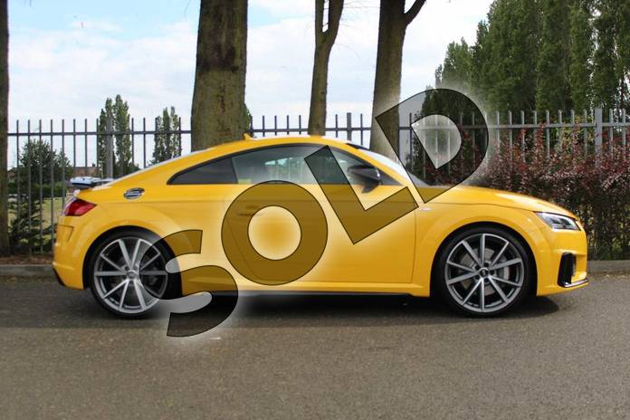Image four of this 2019 Audi TT Coupe 45 TFSI Black Edition 2dr S Tronic in Vegas Yellow at Coventry Audi