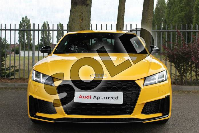 Image seven of this 2019 Audi TT Coupe 45 TFSI Black Edition 2dr S Tronic in Vegas Yellow at Coventry Audi