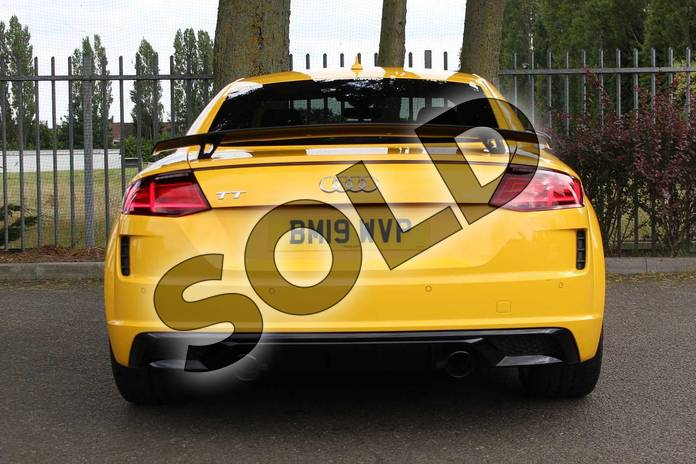 Image twelve of this 2019 Audi TT Coupe 45 TFSI Black Edition 2dr S Tronic in Vegas Yellow at Coventry Audi