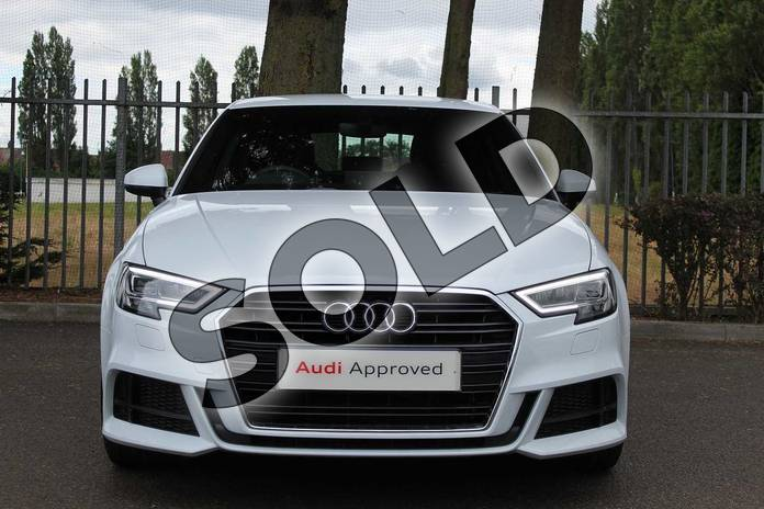 Image seven of this 2019 Audi A3 Diesel Sportback Diesel 30 TDI 116 S Line 5dr S Tronic in Glacier White Metallic at Coventry Audi