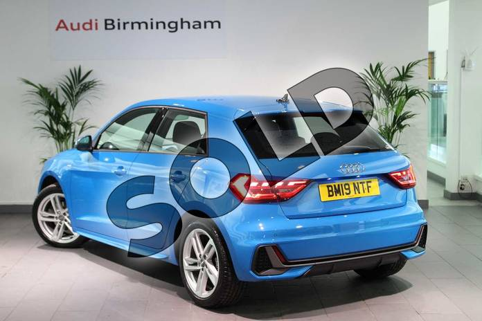 Image three of this 2019 Audi A1 Sportback 35 TFSI S Line 5dr in Turbo Blue at Coventry Audi