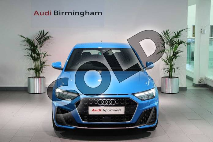 Image seven of this 2019 Audi A1 Sportback 35 TFSI S Line 5dr in Turbo Blue at Coventry Audi