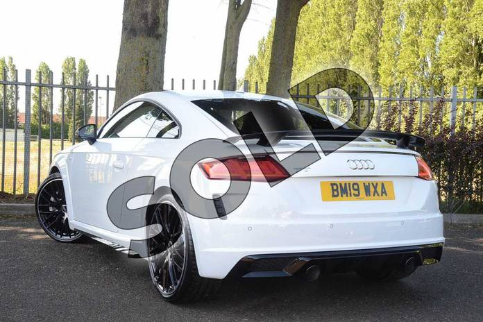 Image three of this 2019 Audi TT Coupe 45 TFSI Black Edition 2dr S Tronic in Ibis White at Coventry Audi