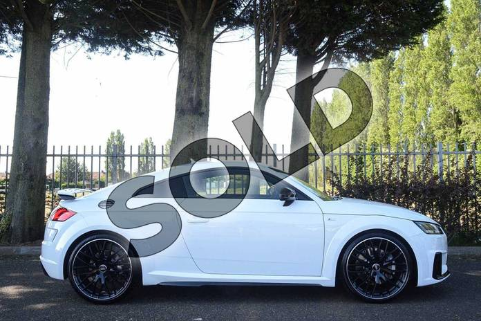 Image four of this 2019 Audi TT Coupe 45 TFSI Black Edition 2dr S Tronic in Ibis White at Coventry Audi