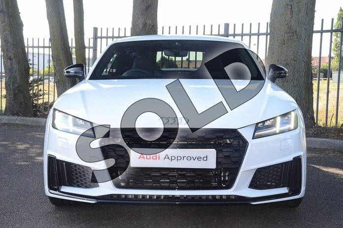Image eight of this 2019 Audi TT Coupe 45 TFSI Black Edition 2dr S Tronic in Ibis White at Coventry Audi