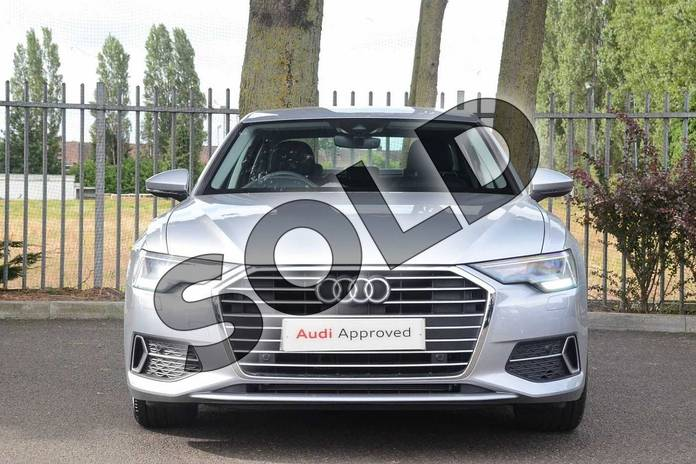 Image seven of this 2019 Audi A6 Diesel Saloon Diesel 40 TDI Sport 4dr S Tronic in Floret Silver Metallic at Coventry Audi