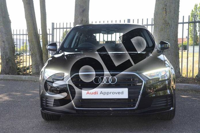 Image seven of this 2019 Audi A3 Sportback 30 TFSI 116 SE Technik 5dr in Brilliant Black at Coventry Audi