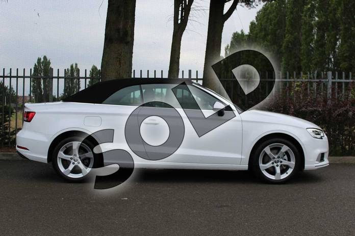 Image four of this 2019 Audi A3 Cabriolet 35 TFSI Sport 2dr in Ibis White at Coventry Audi
