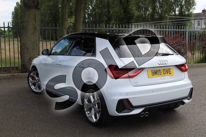 Image three of this 2019 Audi A1 Sportback 40 TFSI S Line Competition 5dr S Tronic in Glacier White Metallic at Coventry Audi