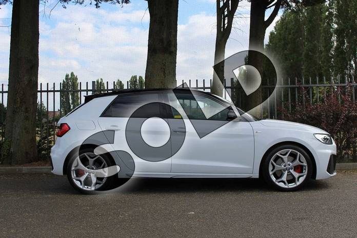 Image four of this 2019 Audi A1 Sportback 40 TFSI S Line Competition 5dr S Tronic in Glacier White Metallic at Coventry Audi