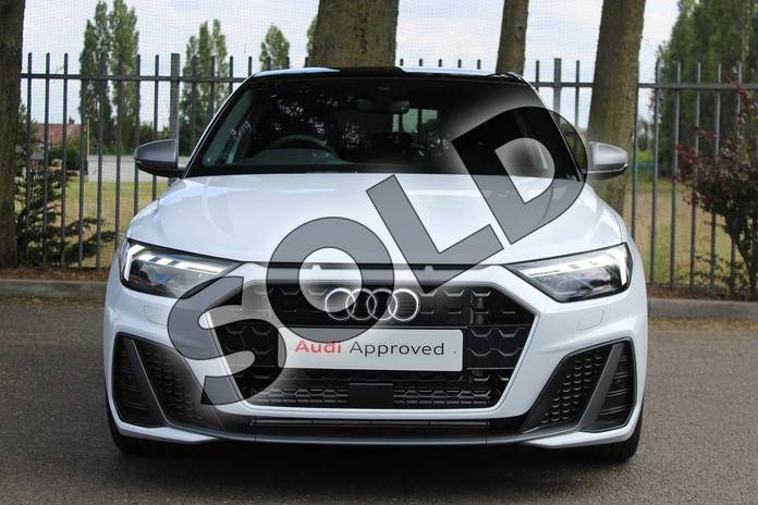 Image seven of this 2019 Audi A1 Sportback 40 TFSI S Line Competition 5dr S Tronic in Glacier White Metallic at Coventry Audi
