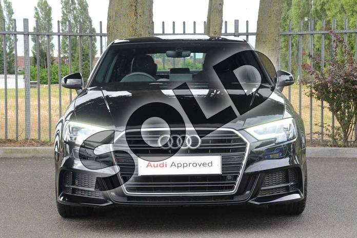 Image seven of this 2019 Audi A3 Saloon 30 TFSI S Line 4dr S Tronic in Brilliant Black at Coventry Audi