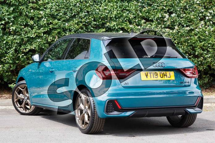 Image three of this 2019 Audi A1 Sportback Special Editions Special Editions 35 TFSI S Line Style Edition 5dr in Tioman Green at Worcester Audi