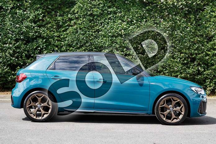 Image four of this 2019 Audi A1 Sportback Special Editions Special Editions 35 TFSI S Line Style Edition 5dr in Tioman Green at Worcester Audi