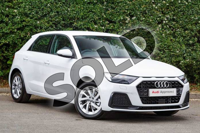 Picture of Audi A1 30 TFSI Sport 5dr S Tronic in Glacier White Metallic