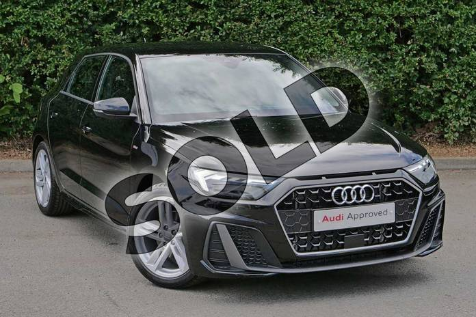 Picture of Audi A1 30 TFSI S Line 5dr S Tronic in Myth Black Metallic