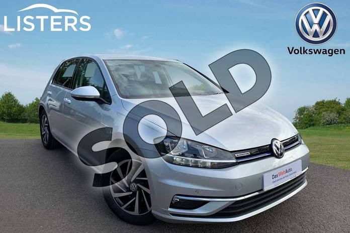 Picture of Volkswagen Golf 1.5 TSI EVO Match 5dr in Reflex Silver