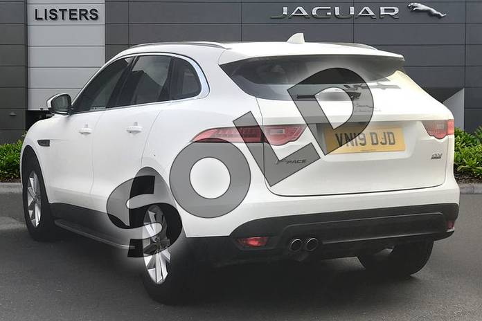 Image two of this 2019 Jaguar F-PACE Diesel Estate 2.0d Prestige 5dr Auto AWD in Fuji White at Listers Jaguar Droitwich