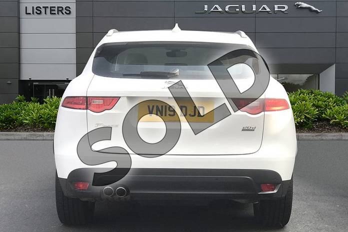 Image six of this 2019 Jaguar F-PACE Diesel Estate 2.0d Prestige 5dr Auto AWD in Fuji White at Listers Jaguar Droitwich