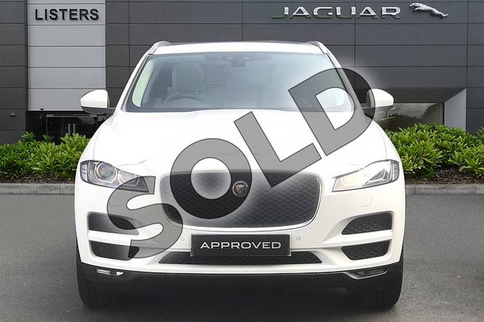 Image seven of this 2019 Jaguar F-PACE Diesel Estate 2.0d Prestige 5dr Auto AWD in Fuji White at Listers Jaguar Droitwich