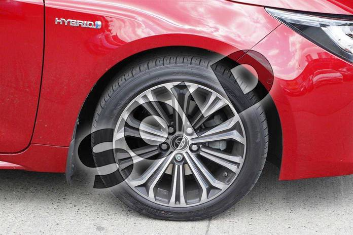 Image seven of this 2019 Toyota Corolla Hatchback 2.0 VVT-i Hybrid Design 5dr CVT in Red at Listers Toyota Nuneaton
