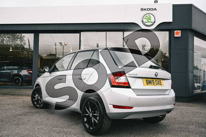 Image three of this 2019 Skoda Fabia Hatchback 1.0 TSI 110 SE L 5dr in Brilliant Silver at Listers ŠKODA Coventry