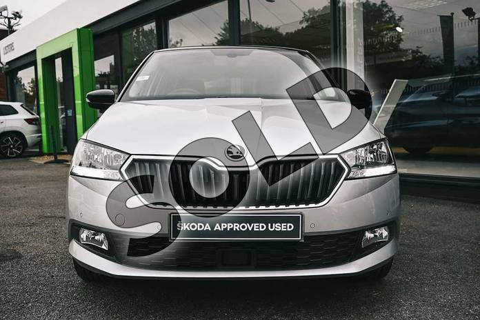 Image eight of this 2019 Skoda Fabia Hatchback 1.0 TSI 110 SE L 5dr in Brilliant Silver at Listers ŠKODA Coventry