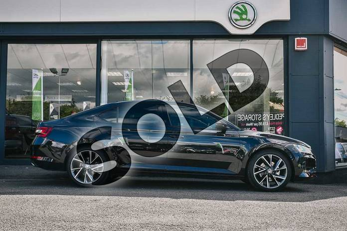 Image four of this 2019 Skoda Superb Diesel Hatchback Diesel 2.0 TDI CR 190 Sport Line Plus 4X4 5dr DSG 7 Speed in Black Magic Pearl Effect at Listers ŠKODA Coventry