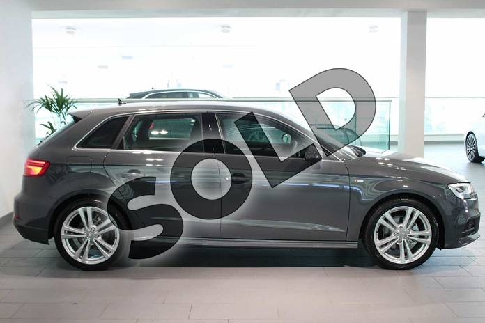 Image four of this 2019 Audi A3 Diesel Sportback Diesel 30 TDI 116 S Line 5dr S Tronic in Nano Grey Metallic at Birmingham Audi