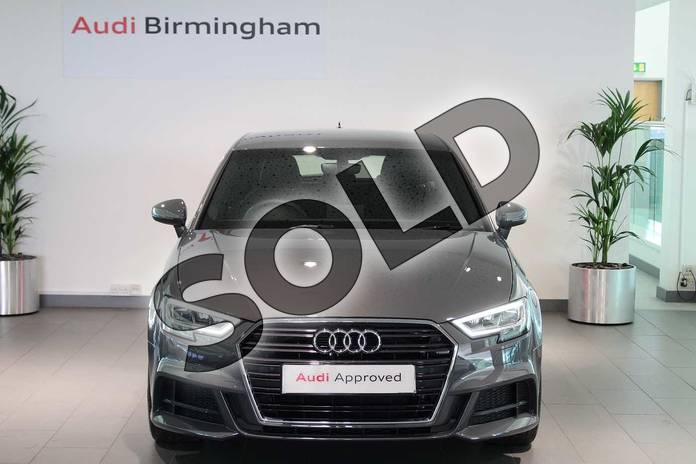 Image seven of this 2019 Audi A3 Diesel Sportback Diesel 30 TDI 116 S Line 5dr S Tronic in Nano Grey Metallic at Birmingham Audi