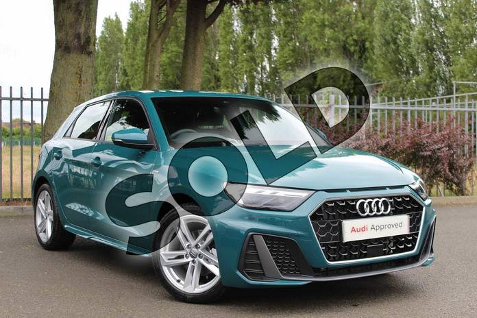 Picture of Audi A1 35 TFSI S Line 5dr S Tronic in Tioman Green