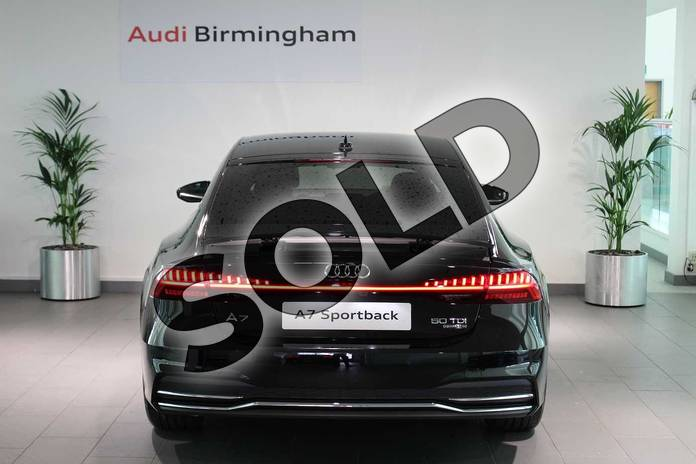 Image sixteen of this 2019 Audi A7 Diesel Sportback Diesel 50 TDI Quattro S Line 5dr Tip Auto in Myth Black Metallic at Birmingham Audi