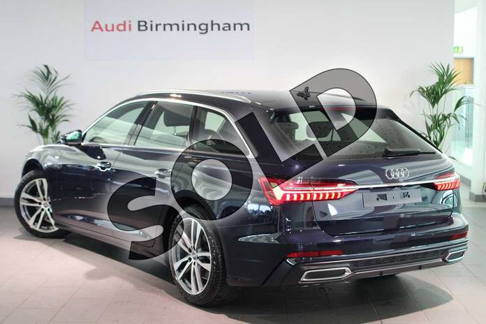 Image three of this 2019 Audi A6 Diesel Avant Diesel 40 TDI S Line 5dr S Tronic in Firmament Blue Metallic at Birmingham Audi
