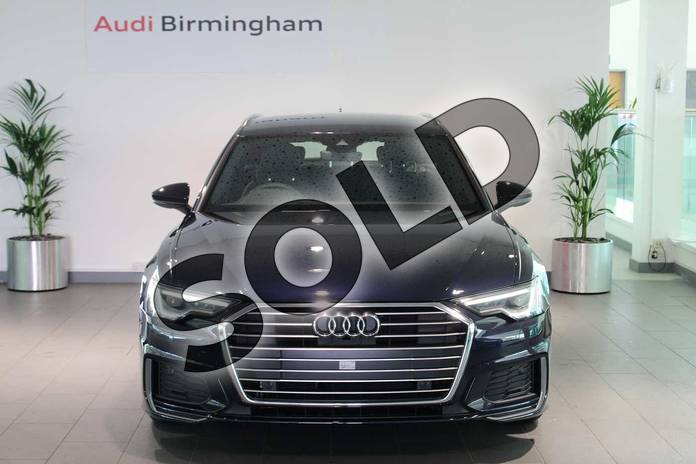 Image seven of this 2019 Audi A6 Diesel Avant Diesel 40 TDI S Line 5dr S Tronic in Firmament Blue Metallic at Birmingham Audi