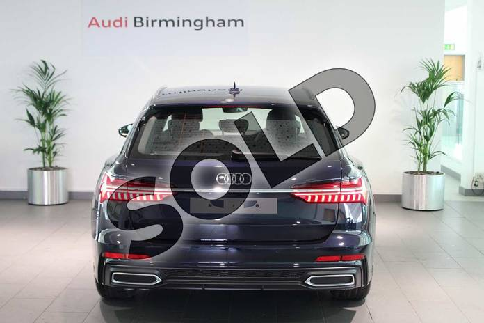 Image fourteen of this 2019 Audi A6 Diesel Avant Diesel 40 TDI S Line 5dr S Tronic in Firmament Blue Metallic at Birmingham Audi