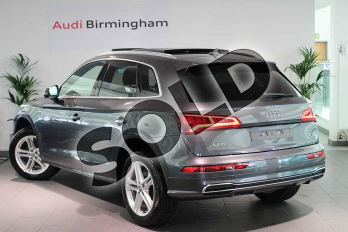 Image three of this 2019 Audi Q5 Diesel Estate Diesel 40 TDI Quattro S Line 5dr S Tronic in Daytona Grey Pearlescent at Birmingham Audi