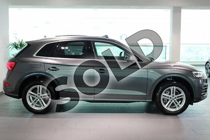Image four of this 2019 Audi Q5 Diesel Estate Diesel 40 TDI Quattro S Line 5dr S Tronic in Daytona Grey Pearlescent at Birmingham Audi